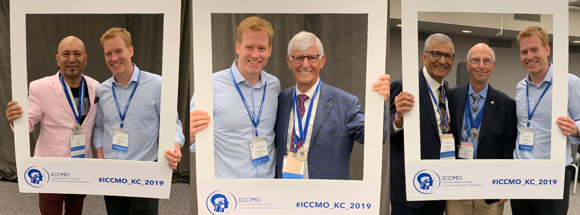 Langley, BC dentist Dr. Garrett at the ICCMO conference